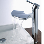 View Item ASTINI Blade Tall Waterfall Bathroom Basin Tap B6019
